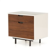 Tucker Filing Cabinet-white