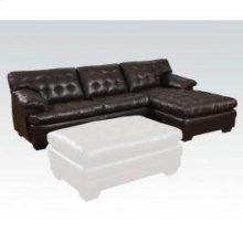 Dark Brown Sectional Sofa