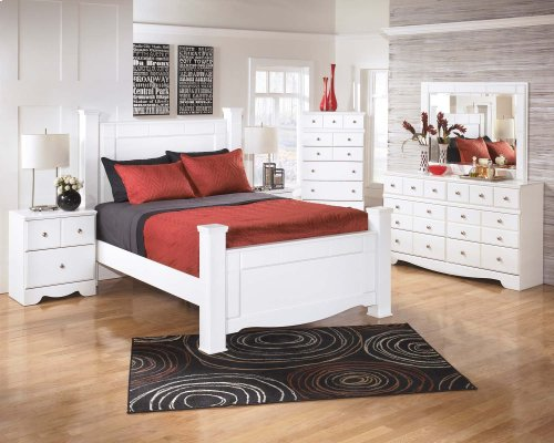 Weeki - White 4 Piece Bed Set (Queen)