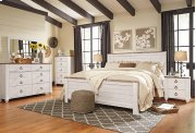 Willowton - White Wash 3 Piece Bed Set (King) Product Image