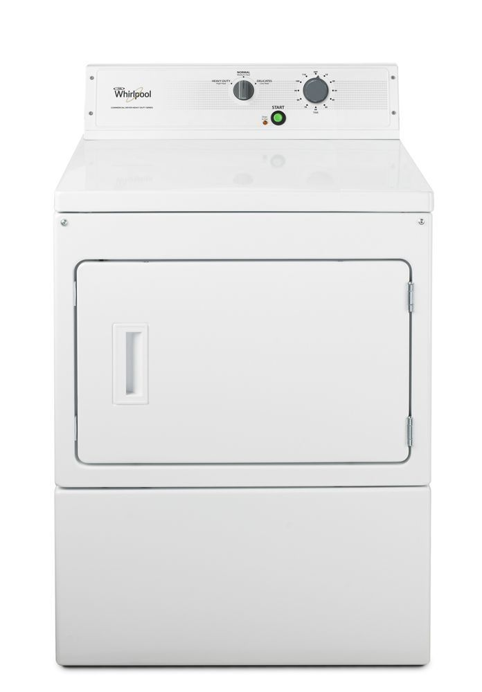 """Whirlpool27"""" Large Capacity Non-Metered Commercial Electric Dryer"""