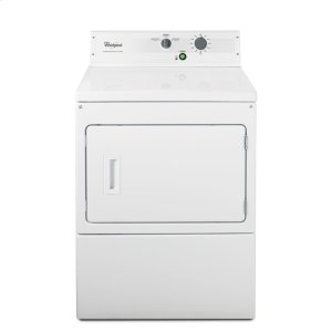 "Whirlpool27"" Large Capacity Non-Metered Commercial Electric Dryer"