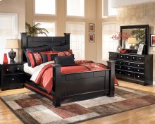 Shay - Almost Black 8 Piece Bedroom Set