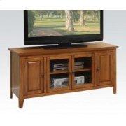 Oak Finish TV Stand Product Image