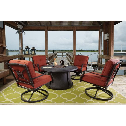 P456776t In By Ashley Furniture In Lake City Fl Round Fire Pit