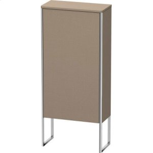 Semi-tall Cabinet Floorstanding, Linen (decor)