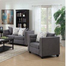 Winslow Gray Fabric Chair
