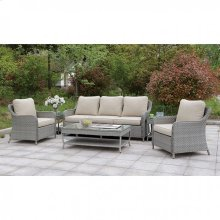 Hysham 6 Pc. Patio Set W/ Coffee Table & 2 End Tables
