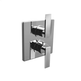 """7095em-tm - 1/2"""" Thermostatic Trim With Volume Control in Polished Chrome"""