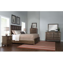 Forest Hills Panel Bed, King 6/6