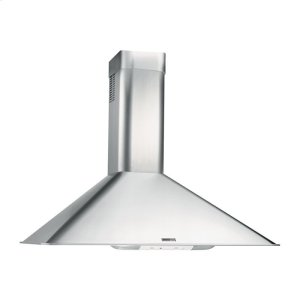 "BroanBroan 290 CFM, 35-7/16"" Wall-Mounted Chimney Hood in Stainless Steel"
