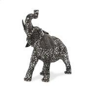 Small Elephant, Aluminum Scroll Design Product Image