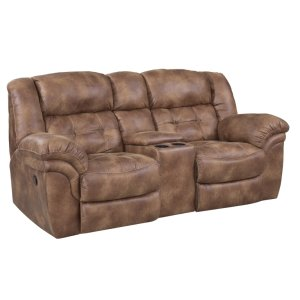 HomestretchReclining Console Loveseat