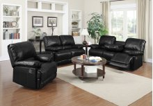 Dalton Black Reclining Loveseat
