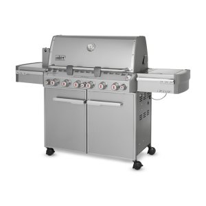 WeberSUMMIT® S-670™ LP GAS GRILL - STAINLESS STEEL