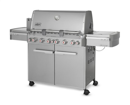 SUMMIT® S-670™ LP GAS GRILL - STAINLESS STEEL