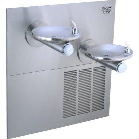 Elkay SwirlFlo Fountain Bi-Level GreenSpec ADA Non-Filtered, 8 GPH Stainless