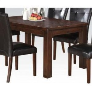 Brown Cherry Dining Table Hidden