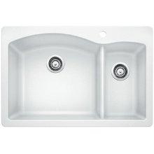 Blanco Diamond 1-1/2 Bowl - White