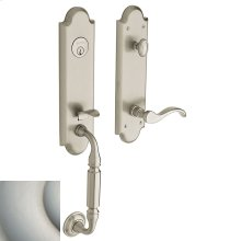 Satin Nickel Manchester Handleset