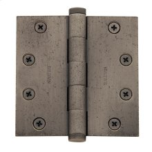 Distressed Antique Nickel Ball Bearing Hinge