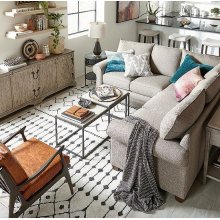 Bone Alexander Small L-Shaped Sectional