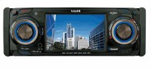 "1 DIN AM/FM/DVD Receiver with 3.5"" TFT LCD Monitor"