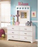 Lulu - White 2 Piece Bedroom Set Product Image