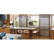 "Sub-Zero 36"" All Freezer - Framed - Right Hinge"