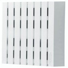 "Decorative Wired Door Chime, 7-7/8""w x 8""h x 2-1/2""d, in White"