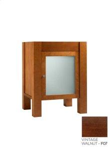"Devon 23"" Bathroom Vanity Base Cabinet in Vintage Walnut"