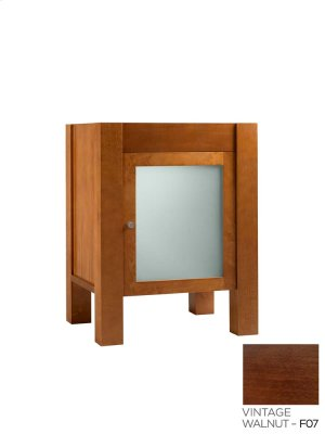 "Devon 23"" Bathroom Vanity Base Cabinet in Vintage Walnut Product Image"