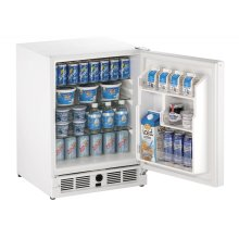 "Ada Series 21"" Ada Solid Door Refrigerator With White Solid Finish and Field Reversible Door Swing (115 Volts / 60 Hz)"