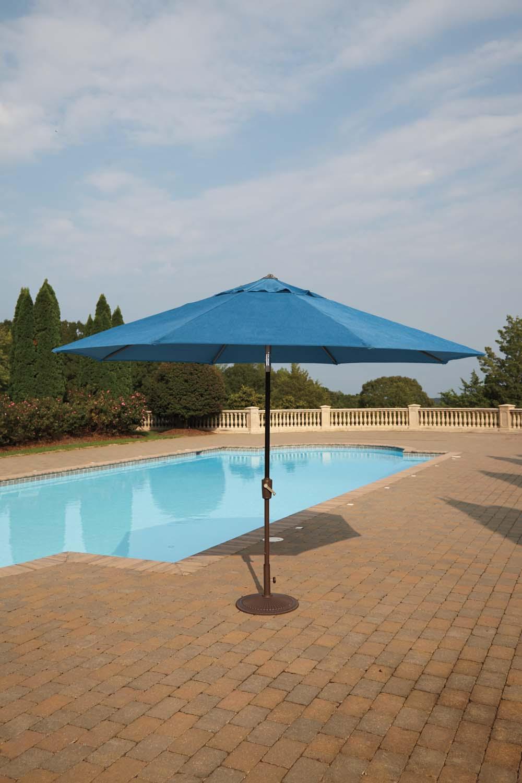 Umbrella Accessories   Multi 2 Piece Patio Set
