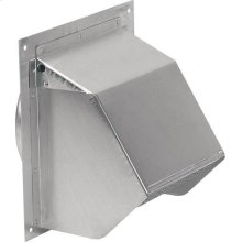 Wall Cap in Aluminum; Ventilation Fans