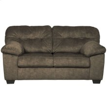 Signature Design by Ashley Accrington Loveseat in Earth Microfiber