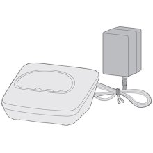 Handset Charger with Adapter