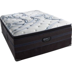 SimmonsBeautyrest - Black - Susan - Ultra Plush - Pillow Top - Cal King