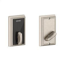 Schlage Control Smart Deadbolt with Addison trim - Satin Nickel