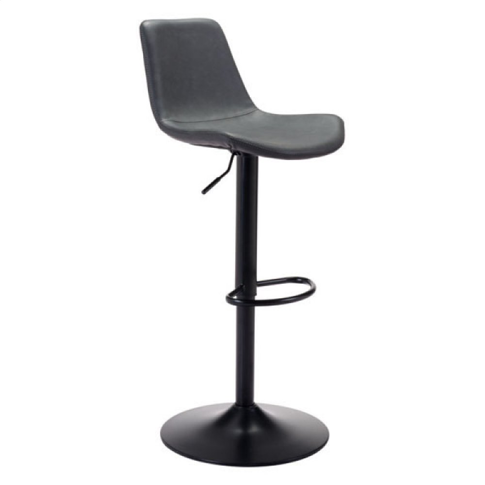 Lakeshore Bar Chair Vintage Dark Gray