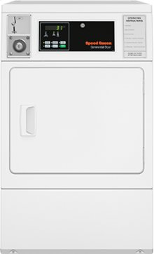 Dryer Gas Coin-Operated - Front Control