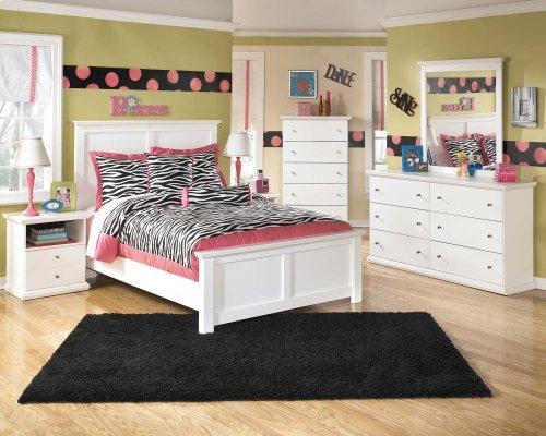 Bostwick Shoals - White 3 Piece Bed Set (Full)