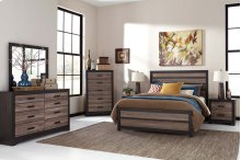 Harlinton - Warm Gray/Charcoal Bedroom Set