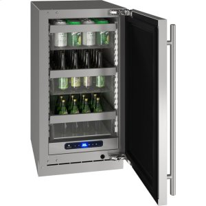 "U-Line5 Class 18"" Refrigerator With Stainless Frame Finish and Field Reversible Door Swing (115 Volts / 60 Hz)"