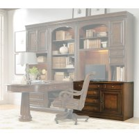 Home Office European Renaissance II Computer Credenza Desk Product Image