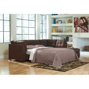 Ashley Furniture Maier - Walnut 2 Piece Sectional