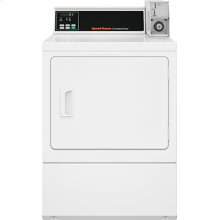 Electric Dryer - Coin-Operated - Rear Control