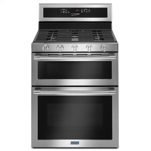 30-Inch Wide Double Oven Gas Range With True Convection - 6.0 Cu. Ft. -