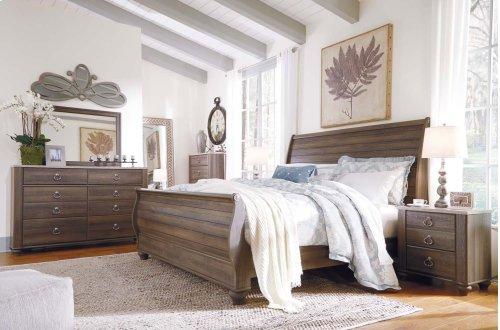 Birmington - Brown 3 Piece Bed Set (King)