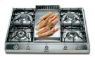 "Stainless Steel with Stainless Steel Trim 36"" - Professional Gas Cooktop Product Image"